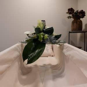 Plexiglas plateau voor bloemen