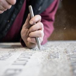 Grafmonumenten van Engraved