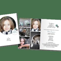 Rouwkaart – tweeluik
