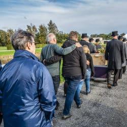Uitvaartfotografie bij begrafenis