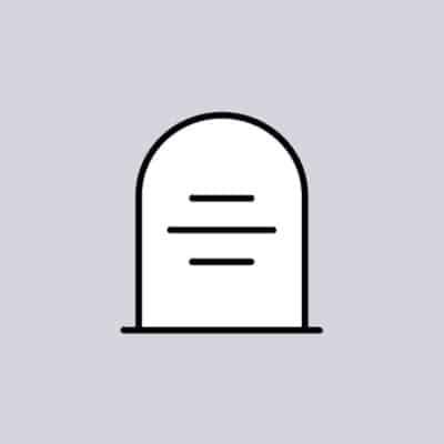Tijdelijke grafmonument